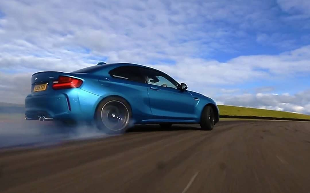 BMW M4 GTS & M2 at Anglesey